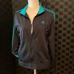 Adidas zip front jacket
